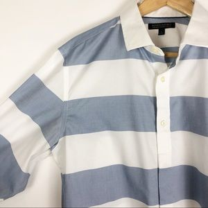 Banana Republic striped button down